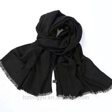 Mode plaine Top vente femmes coton hijab femmes musulman longue écharpe en viscose
