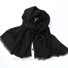 Moda planície Top vendendo mulheres algodão mulheres hijab muçulmano lenço longo viscose