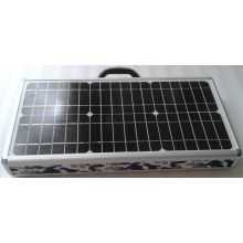 10W Solar Power System Portable Case Box with FM Radio MP3