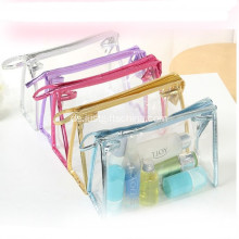 Werbe PVC klar transparent Make Up Tasche
