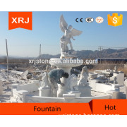 Special Price Chinese Granite Stone Multideck Fountain Figure Kids and Femal Stone Carve