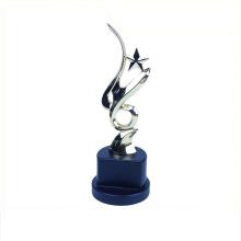 Troféu de alumínio de sapato de metal estilo simples barato