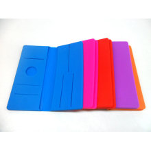 Fashionable Folded Silicone Wallet / Silicone Purse