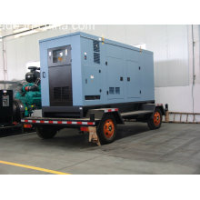 Volvo Series 375kVA Soundproof Mobile Trailer/Portable Diesel Genset