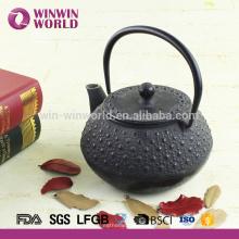 Klassische Gusseisen Teekanne mit Infuser
