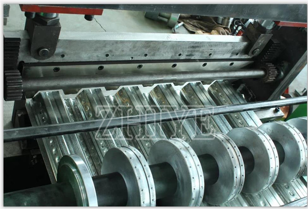 Däck Golv Roll Forming Machine