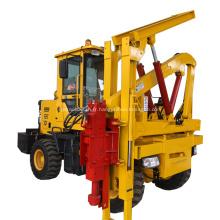 Machine hydraulique de conduite de pile pour la barrière de route