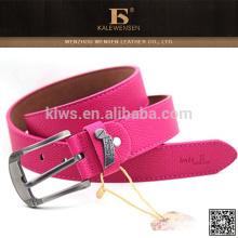 Cinturones de lujo al por mayor de encargo coloridos de moda para las muchachas