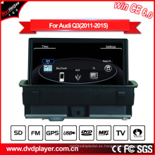 Windows Ce Reproductor de DVD de coche para Audi Q3 Reproductor de DVD Bluetooth y iPod Hualingan