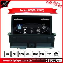 Lecteur DVD Windows Ce Car pour Audi Q3 Lecteur DVD Bluetooth et iPod Hualingan
