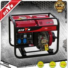 BISON China Zhejiang 2KVA Luftgekühlte Einphasen-2kw Diesel-Generatoren