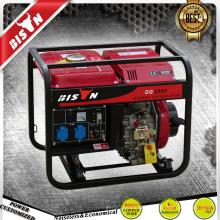 BISON China Zhejiang 2KVA refrigerado a ar monofásico 2kw geradores a diesel