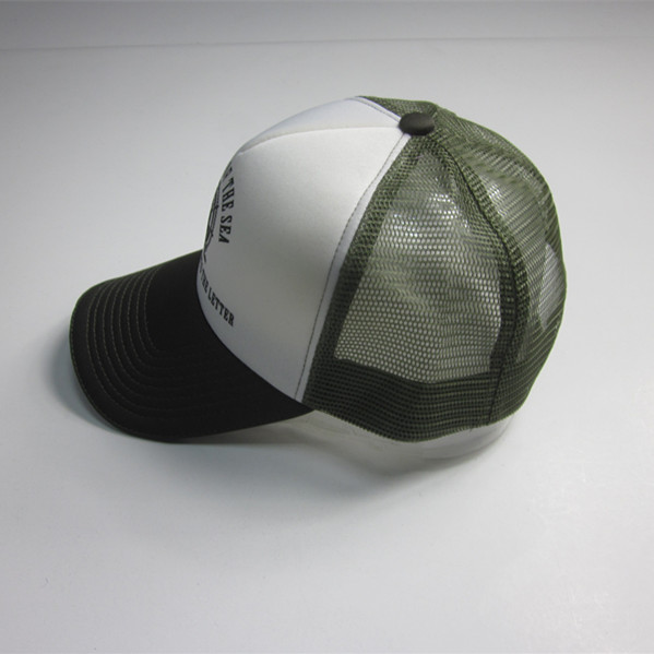 Five Panel Reflecitve Sandwich Trucker Cap