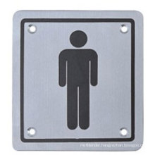 Stainless Steel Square Sign Plate/Push/Pull/Female/Male/Disabled