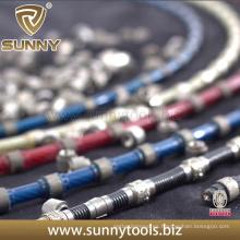 Cable de sierra de alambre de diamante para corte de mármol