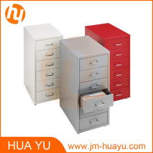 Gabinete de archivo de acero amarillo de 6 cajones de Office Furniture