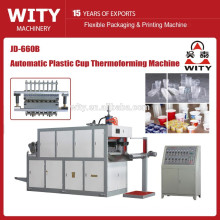 JD-660B Automatic Plastic disposable cup thermoforming machine