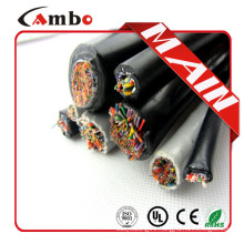 Multi pair Underground cat5e Water blocked cat5e outdoor cable 50 pair with Gel Filled