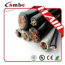 Multi пара Подземный cat5e Вода заблокирована cat5e наружный кабель 50 пар с заполненным гелем