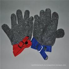 304 guantes de carnicero de malla de acero inoxidable