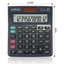 Hot selling 12 digit desktop office calculator with check correct function