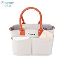 PH100675 Phanpy Yiqiu Large Capacity Casual Mummy Bag-Beige
