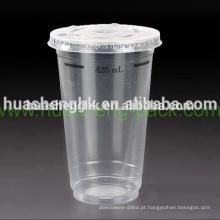 O costume leva embora o copo plástico descartável da impressão 17oz clara