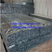 20x20mm Galvanized Square steel pipes ERW steel tubes