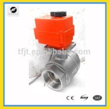 válvula de motor DC5V de torsión grande para detección de fugas y sistema de corte de agua, sistema de ahorro de agua