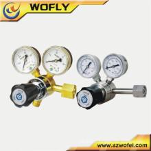Régulateur de mesure d'oxygène en acier inoxydable