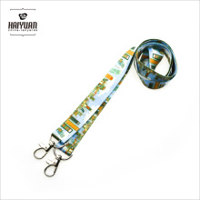 Double Hook Lanyards in Full Color Printing