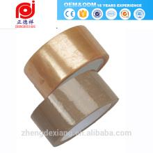 china chrom klebstoff verpackung billig kohäsive gummi transparent klar klebrige kanal maskierung transfer mylar band für autos