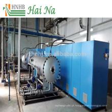 Purificador de tratamento de gases de combustão para remoção de cinzas