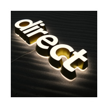 Company Signage 3D Mini Letter Signage signs advertising outdoor channel letter sign
