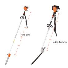 L'ensemble d'outils de durcissement de 4 pièces comprend un taille-haie de débroussailleuse et une scie à poteau (HC-BC005S1)