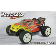 Metal Toy Radio Radio Control Car 1/18 Escala Moda Carro Brinquedos
