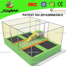 Hot Selling Crane Indoor Outdoor Trampoline with Pyramid