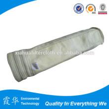 Bolsas de filtro de fibra de vidrio no tejidas de alta temperatura
