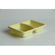 2 Compartment Blister Food Box for Fast Food
