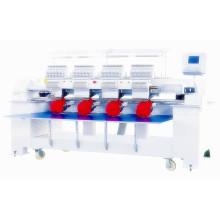 Máquina de bordar automatizada del bordado del casquillo del condensador de ajuste automático de la rosca