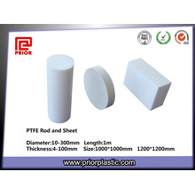 100% Virgin Material PTFE Plate and Rod