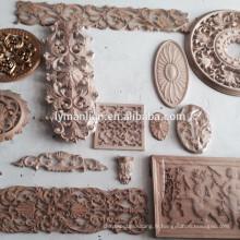 moulure en bois décorative / moulure en bois sculpté à la main