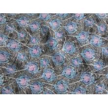 Polyester Chiffon Velvet avec impression (XSC011)