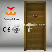 BS476 probado puertas de madera del hotel de 60 minutos