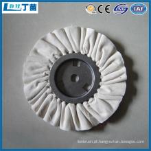 escova industrial de polimento de nylon para remoção de cavacos