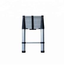Escalera simple telescópica de aluminio con EN131-6
