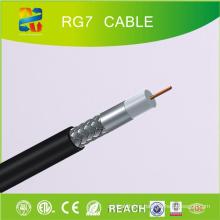75 Ом Коаксиальный кабель Rg7 (CE / RoHS / REACH / ETL)