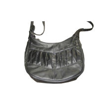 Stylish Womens Hand Bags / Leather Tote Bag With Small Zipper Pocket