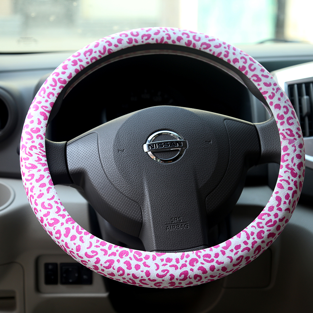 baseball steering wheel cover
