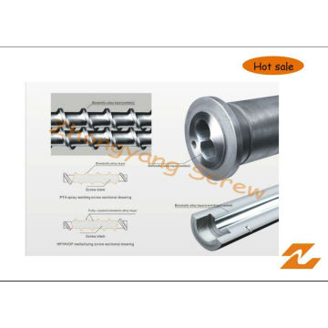 Bimetallic Bimetal Screw and Barrel with Long Working Life